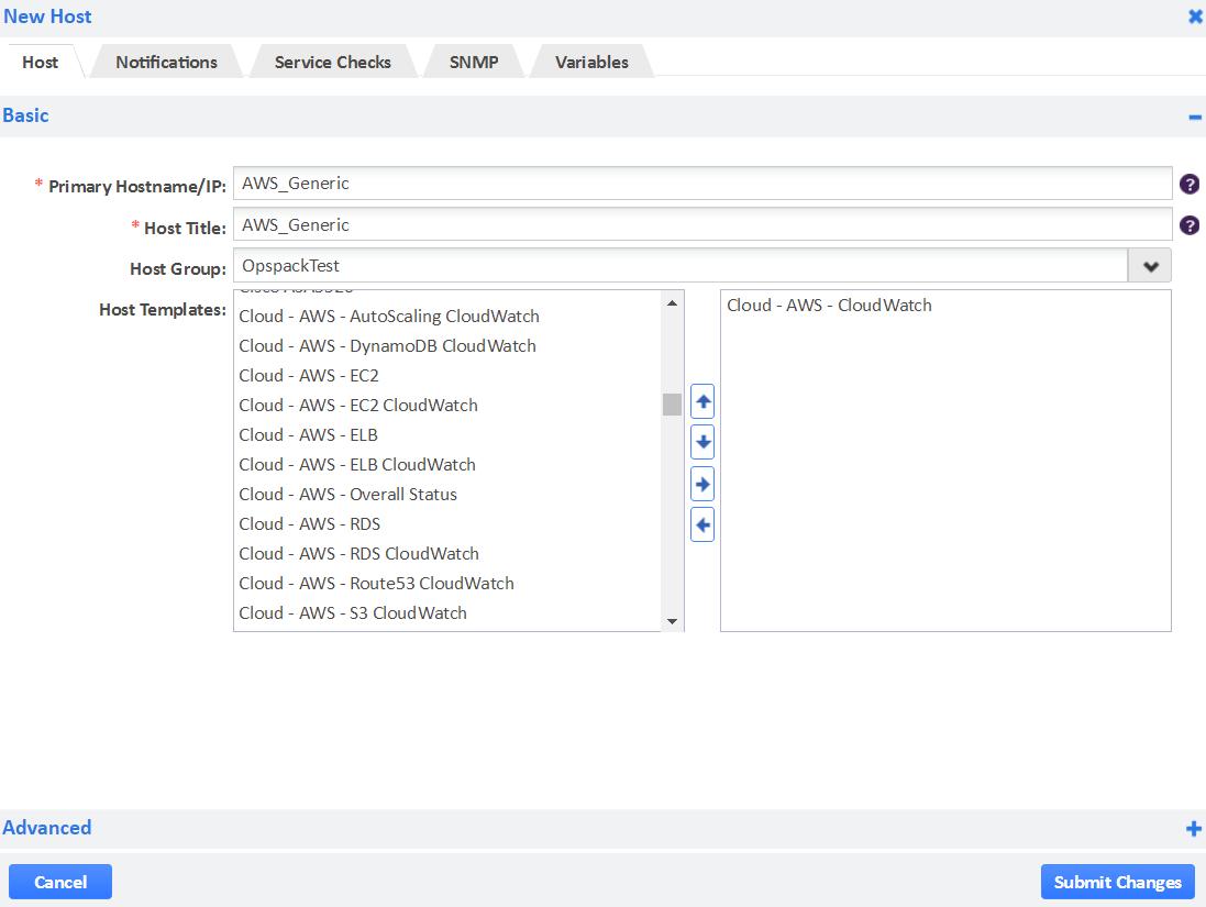 AWS Generic CloudWatch Monitoring