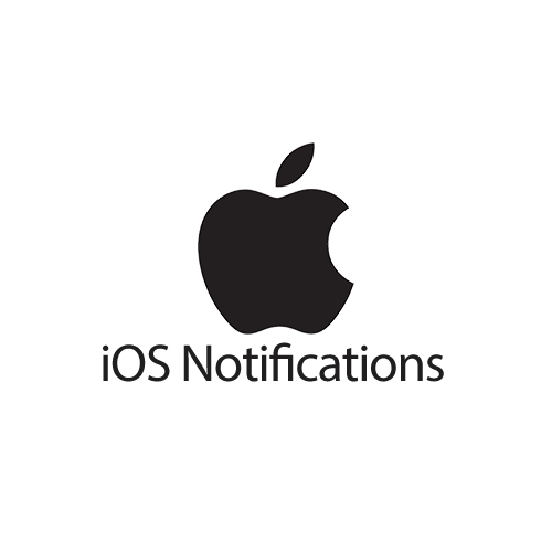 iOS Notifications Logo