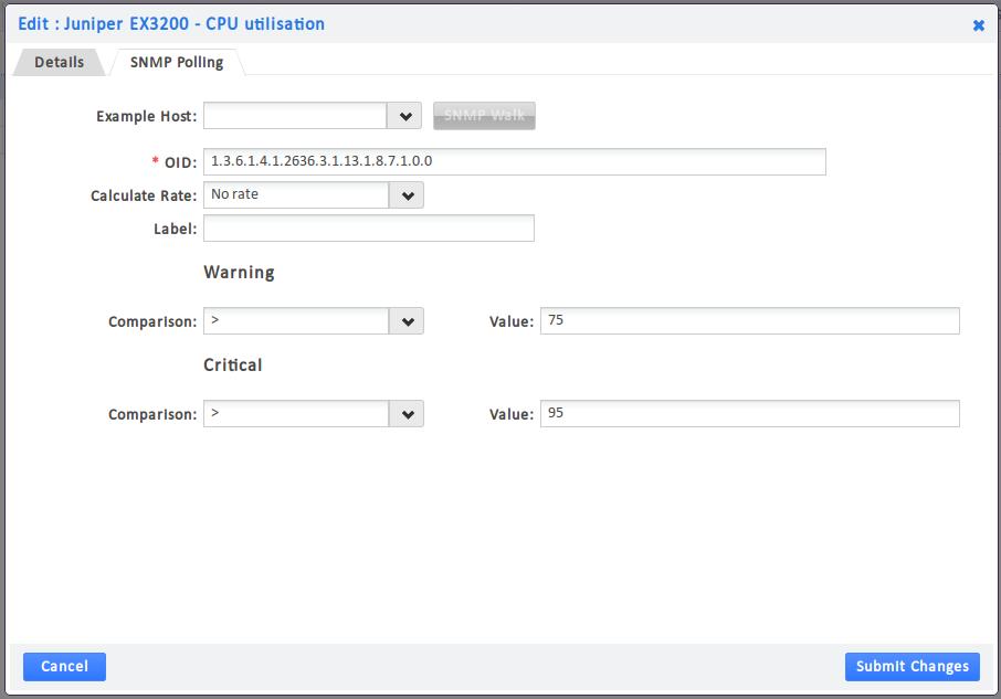 Juniper CPU Utilization