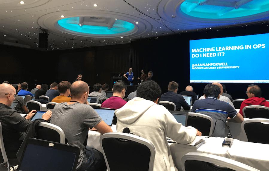 Server Density Talk on Machine Learning